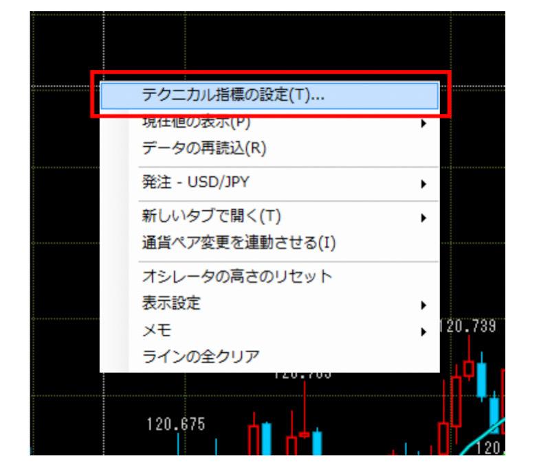 セントラル短資FX取引画面